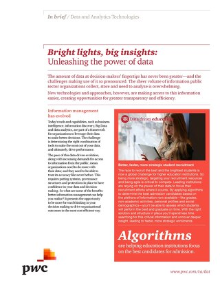 Bright Lights Big Insights