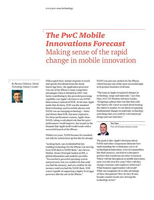 Mobileinnovationsforecast
